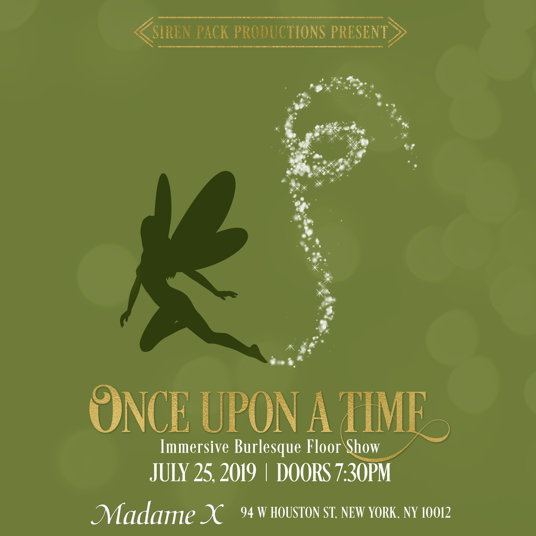 """Once Upon a Time"" burlesque show - www.speakeasynoir.com"