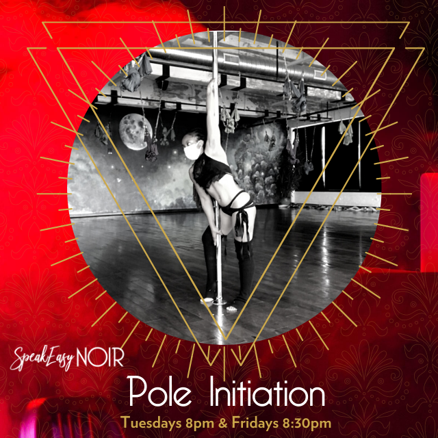 """Baltimore Pole Dance Class"" - https://speakeasynoir.com"